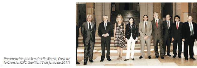 Presentación pública de LifeWatch, Casa de la Ciencia, CSIC (Sevilla, 13 de junio de 2011)