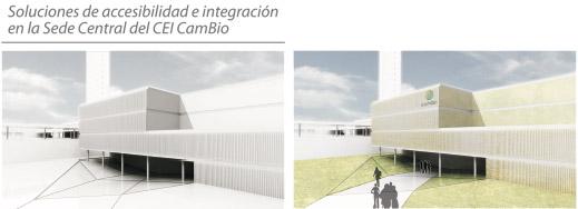 Soluciones de accesibilidad e integración en la Sede Central de CEI CamBio