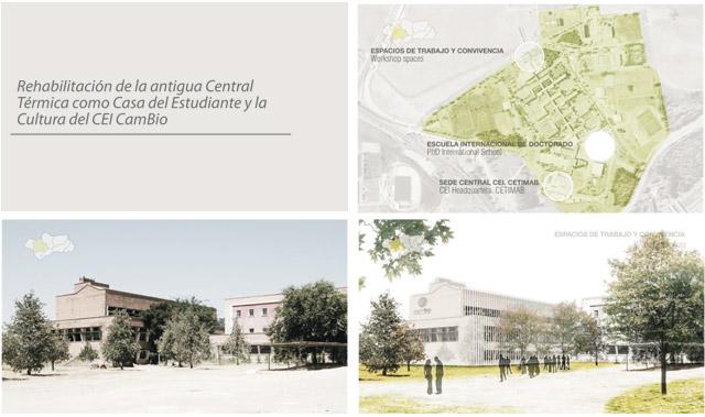 Rehabilitación de la antigua Central Térmica como Casa del Estudiante y la Cultura de CEI CamBio
