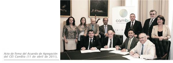 Acto de firma del Acuerdo de agregación