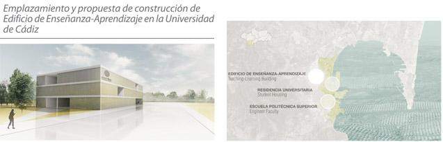 Emplazamiento y propuesta de construcción de Edificio de Enseñanza-Aprendizaje en la Universidad de Cádiz