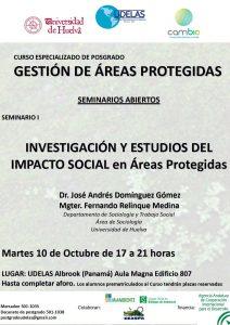 Afiche Seminario 1 Impacto Social