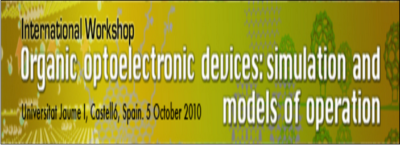 Organic optoelectronic devices: simulation and models of operation