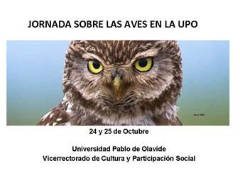 Jornada sobre las Aves en la UPO. 24 Octubre 2011