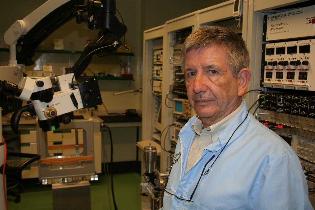 José María Delgado es director de la División de Neurociencias de la UPO