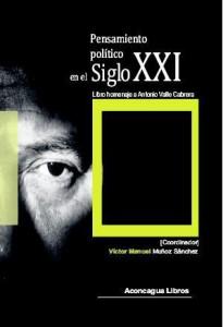 Portada del libro homenaje al profesor Valle Cabrera