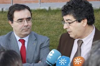 Diego Valderas y Vicente Guzmán
