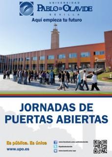Las Jornadas de Puertas Abiertas se celebran los días 19, 20 y 21 de marzo