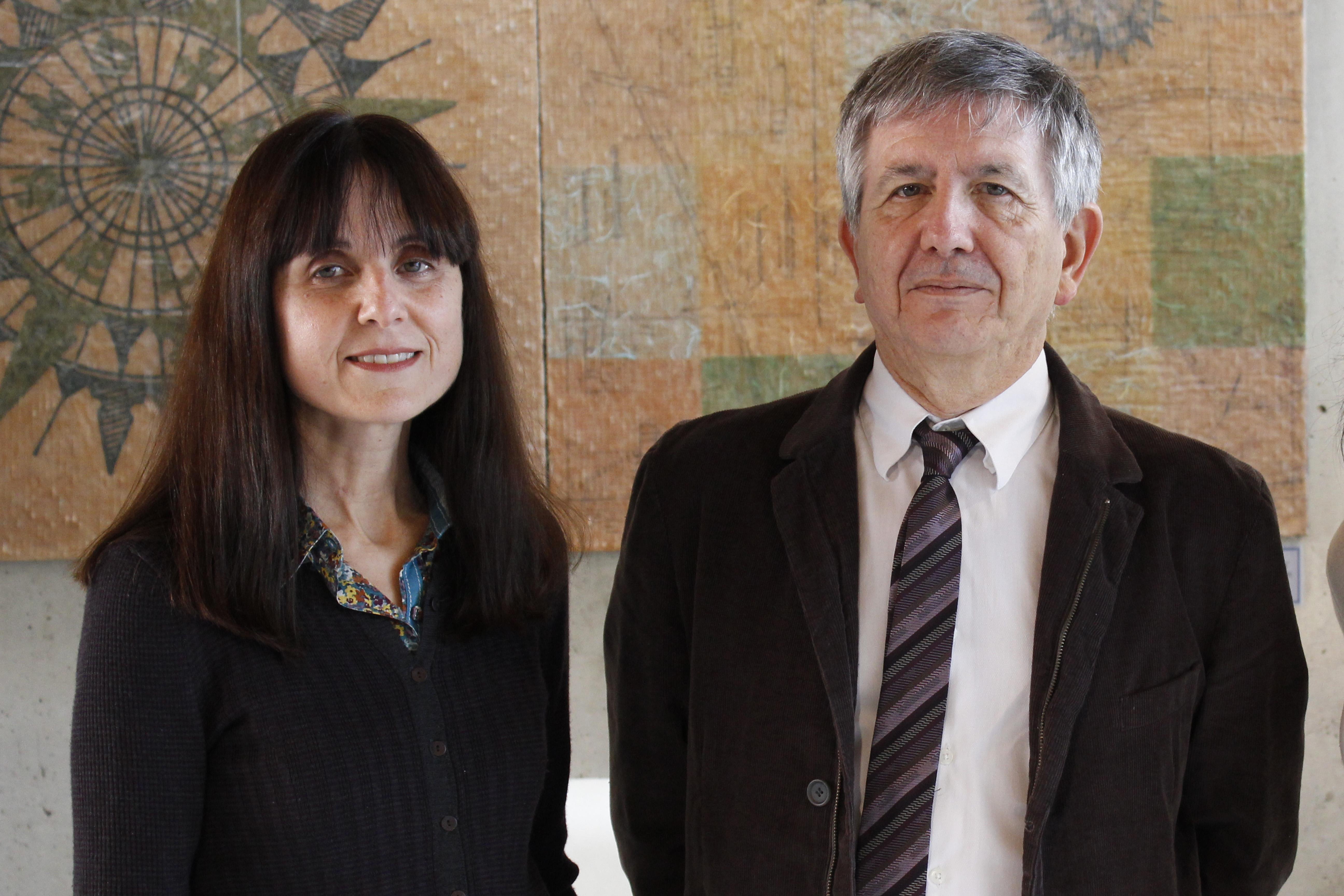 José María Delgado y Agnès Gruart