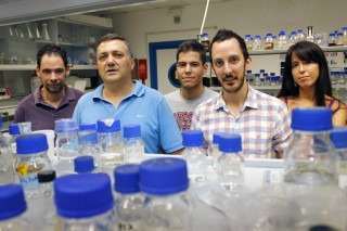Manuel Ballesteros, Carlos Santos, Pablo Gandolfo, Ignacio Guerra y Gloria Brea.