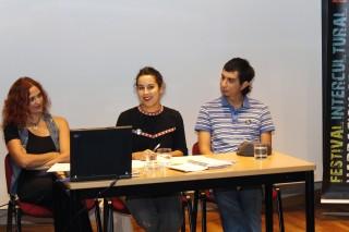 Sandra Cerezo, Alicia Remesal y Jhon Ardilla