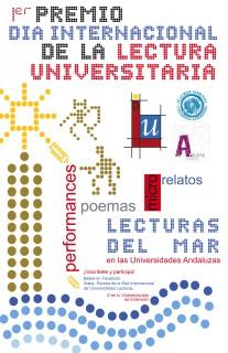 I Premio 'Día Internacional de la Lectura Universitaria' -cartel-