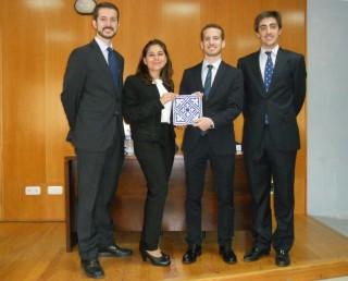El equipo de estudiantes que representarán a la UPO en la final