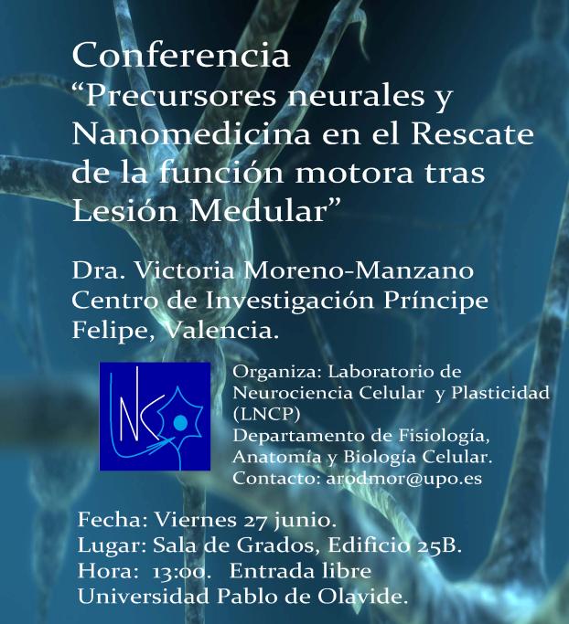 Hoy, conferencia sobre precursores neurales y nanomedicina en la ...