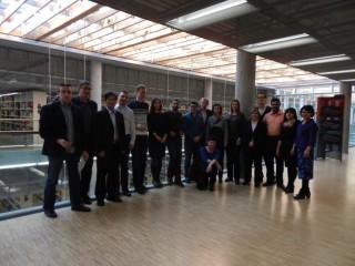 Participantes del proyecto ISS-EWATUS en la reunión de lanzamiento