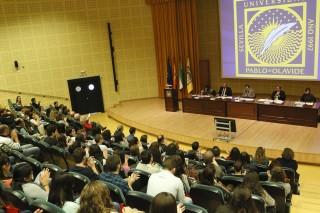 Inauguración de los programas oficiales de másters en el Paraninfo de la UPO