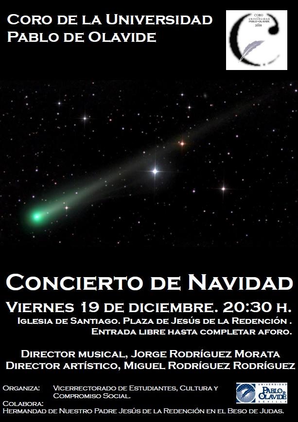 Hoy concierto de navidad del coro de la upo en la iglesia for Concierto hoy en santiago