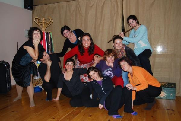 Elenco actoral de teatro espontáneo de TransCrea