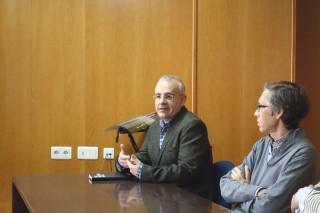 El profesor de Filosofía del Derecho y Política, Rafael Rodríguez Prieto, inaugurando el Workshop