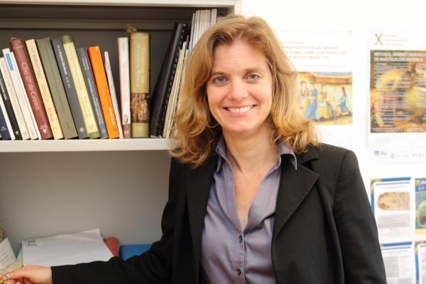 La investigadora de la Universidad Pablo de Olavide de Sevilla Bethany Aram.