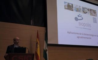 Daniel Ramón Vidal, consejero delegado de Biopolis S.L., ha impartido la conferencia inaugural