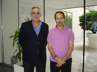 Francisco Berral de la Rosa (i) y Francisco Martín Bermudo (d)