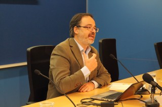 El sociólogo Fernando Vidal ha impartido la conferencia inaugural del encuentro.