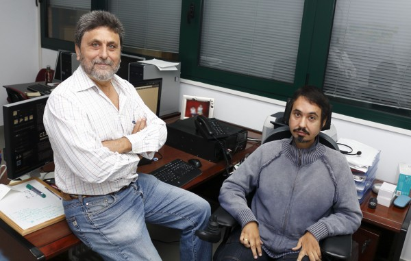 Juan Jiménez y Antonio Pérez-Pulido