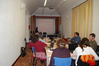 Imagen de los investigadores que participan en el workshop.