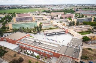 Imagen del campus de la Universidad Pablo de Olavide.