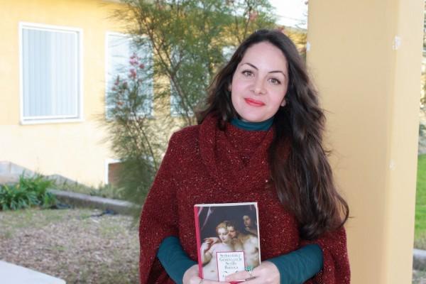 La autora del libro, Eva Manzano Pérez.