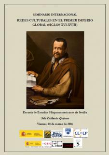 """Seminario internacional """"Redes Culturales en el primer Imperio Global"""