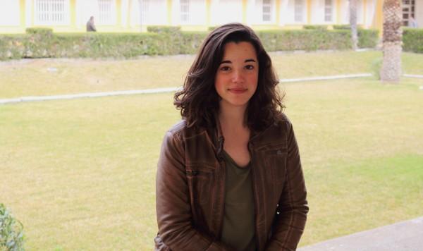 Irene Serrano Ron, única candidata a delegada general de Estudiantes