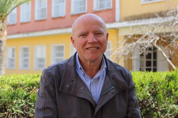 El decano de la Facultad de Ciencias Experimentales Antonio Gallardo.
