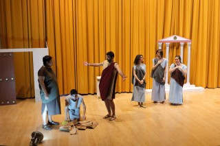 La Maroma (Rudens) de Plauto representada por Furor Bacchicus Teatro.
