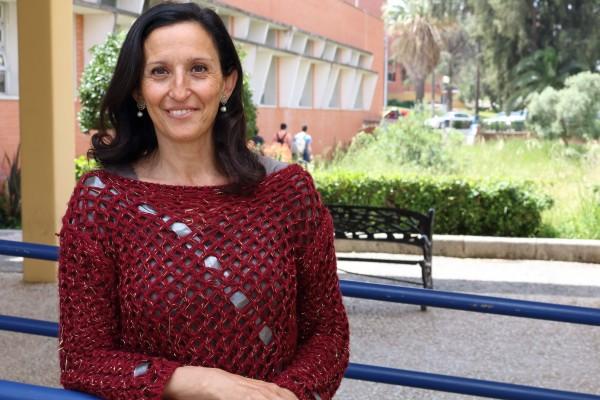 África Calvo Lluch, decana de la Facultad de Ciencias del Deporte de la UPO.
