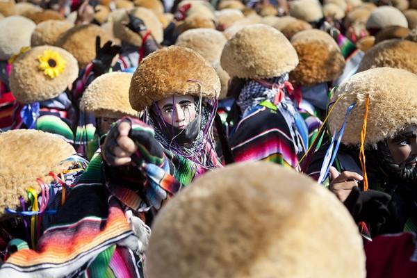 Una de las fotografías del fotógrafo, antropólogo y periodista mexicano Francisco Palma que puede verse en la muestra
