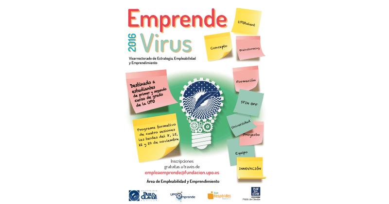 Imagen https://www.upo.es/diario/wp-content/uploads/2016/10/cartel_emprende-virus-2016-300-web.png