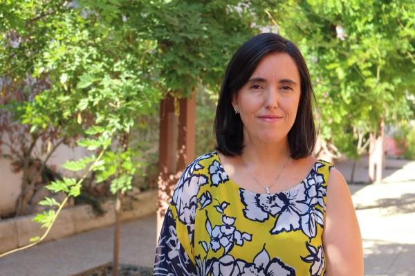 La investigadora de la UPO Rocío Ortiz.