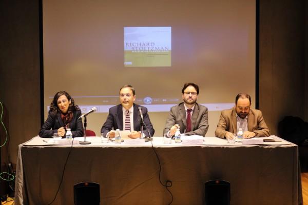 El vicerrector de Estrategia, Empleabilidad y Emprendimiento de la UPO, José Manuel Feria, ha inaugurado el acto