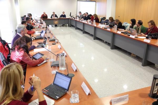 Sesión del Consejo de Gobierno celebrada esta mañana en la UPO.
