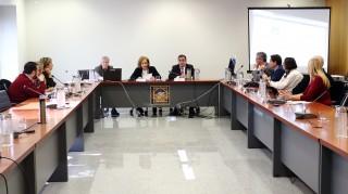 Los miembros del Consejo Social se han reunido esta mañana en la UPO.