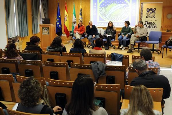 Rosa María Díaz Jiménez, decana de la Facultad de Ciencias Sociales ha presidido el Encuentro