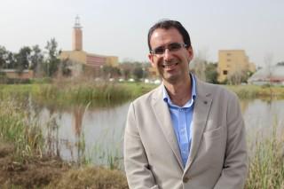Miguel Rodríguez, coautor del estudio y profesor del área de Geodinámica Externa