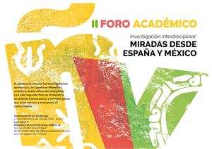 II FORO ACADÉMICO DE INVESTIGACIÓN INTERDISCIPLINAR ESPAÑA-MÉXICO