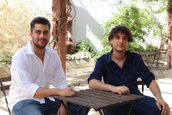 De izquierda a derecha, los egresados de la UPO Carlos Jiménez Barea y Moisés Hidalgo García.