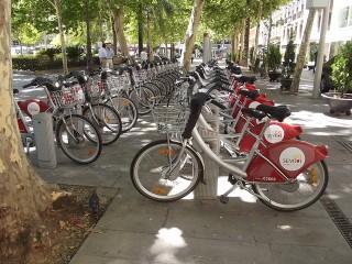 Bicicletas SEVICI / Foto: Elliott Brown