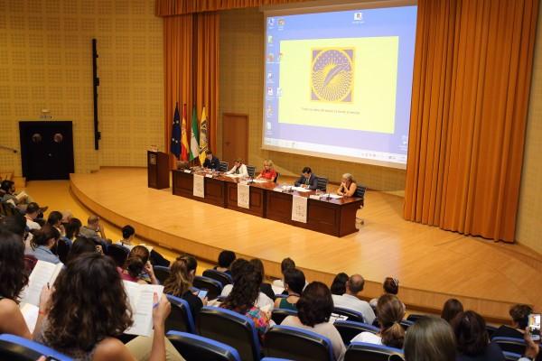 Imagen de la inauguración del congreso que se celebra en la UPO.