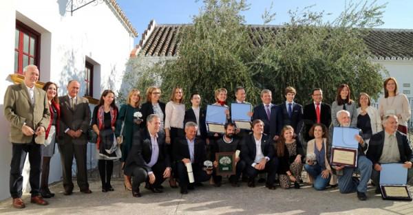 Premiados en la XIX edición de los Núñez de Prado | Foto: Andalucía Digital