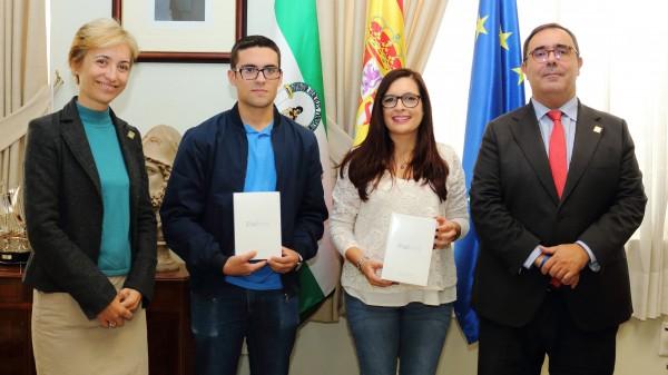 Belén Floriano, Jesús Marinelli, Marta Rojas y Vicente Guzmán